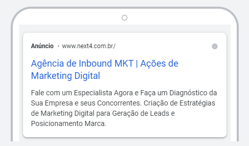 anuncio google ads