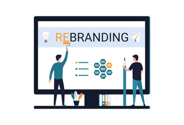reformulação da marca
